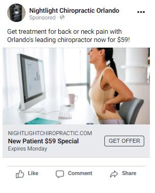 A Successful Facebook Ad Offer